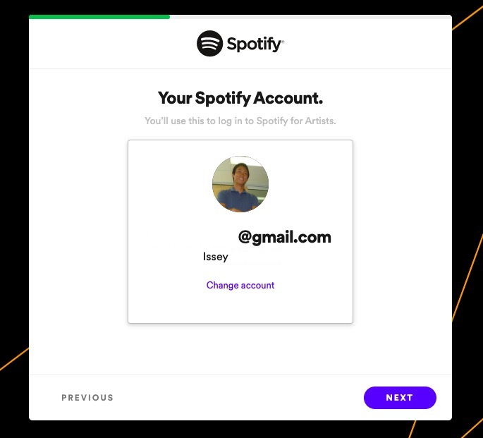 Spotifyアカウント - Spotify for Artists