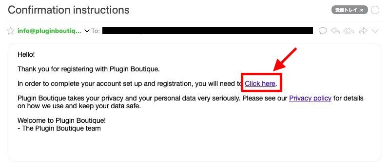 Plugin Boutiqueの登録方法 3